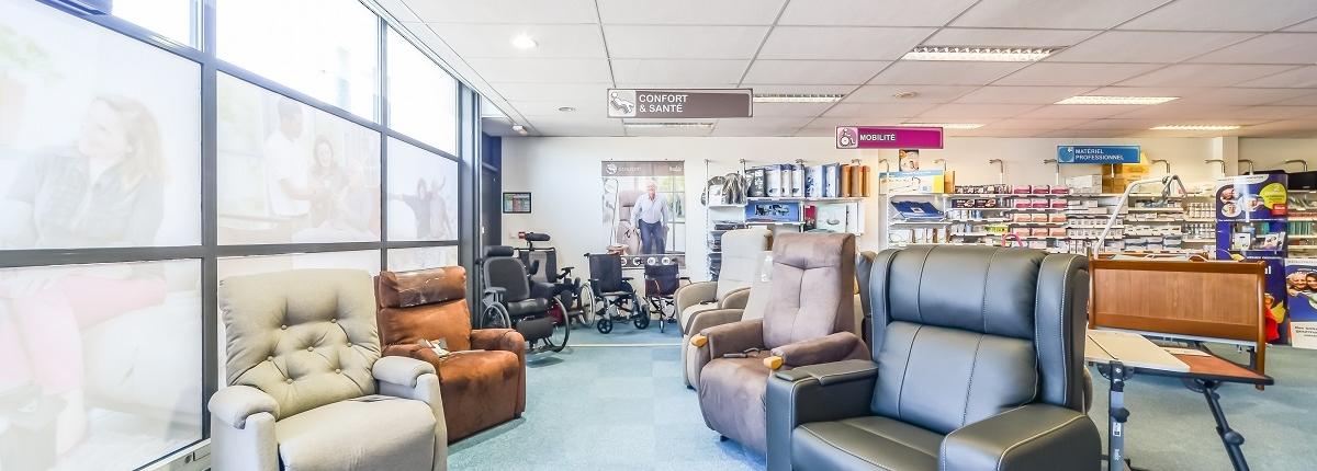 gamme de fauteuils releveurs Bastide Mâcon